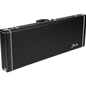 Fender Pro Series Stratocaster/Telecaster Case - Black with Black Acrylic Interior