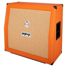 Orange Angled Front 240W 4x12 Cabinet