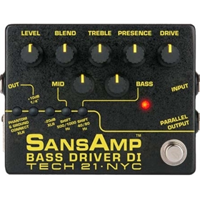 SansAmp Bass Driver DI (v2) - Pre-Amp & DI for Bass