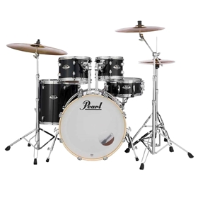 Pearl Export Acoustic Drum Set w/ cymbals & hardware