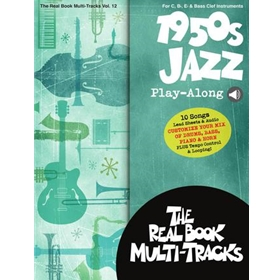 1950S JAZZ PLAY-ALONG, Real Book Multi-Tracks Volume 12