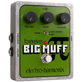 EHX Bass Big Muff Pi - Distortion/Sustainer