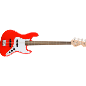 Affinity Series Jazz Bass, Laurel Fingerboard, Race Red