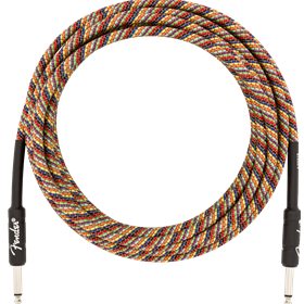18.6' Festival Instrument Cable, Pure Hemp, Rainbow