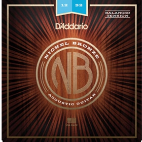 D'Addario Acoustic Guitar Nickel Bronze Lite