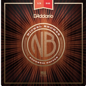 D'Addario Acoustic Guitar Nickel Bronze Medium