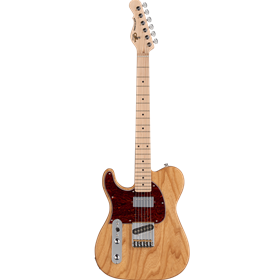 Tribute ASAT Classic Bluesboy Lefty - Natural Gloss, Tort PG, Maple Fingerboard
