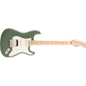 American Pro Stratocaster® HSS ShawBucker™, Maple Fingerboard, Antique Olive