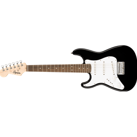 Squier Mini Stratocaster® Left-Handed, Laurel Fingerboard, Black