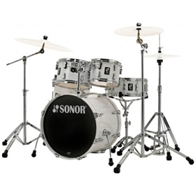 Sonor AQ1 Studio Set, Piano White (20, 10,12,14, 14 Snare)
