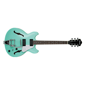 Ibanez AS63T with Bigsby-Style Vibrato, Seafoam Green