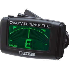 BOSS TU-01 | Clip-on Chromatic Tuner