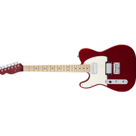 Contemporary Telecaster HH Left-Handed, Maple Fingerboard, Dark Metallic Red