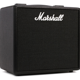 "Marshall CODE series 25w digital combo, 10""speak w/ 2 way footswitch"