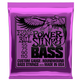Ernie Ball Slinky Roundwound Bass - Power 55-110