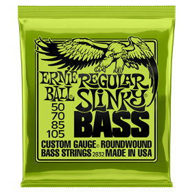 Ernie Ball Slinky Roundwound Bass - Regular 50-105
