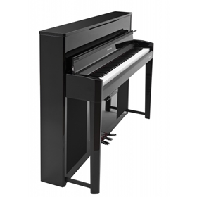 Kurzwell CUP-2A  Ebony | Home Digital Upright Grand Piano