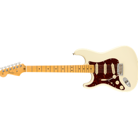 American Professional II Stratocaster® Left-Hand, Maple Fingerboard, Olympic White