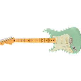 American Professional II Stratocaster® Left-Hand, Maple Fingerboard, Mystic Surf Green