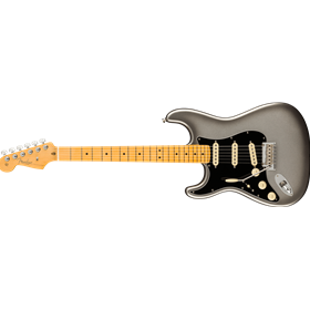 American Professional II Stratocaster® Left-Hand, Maple Fingerboard, Mercury