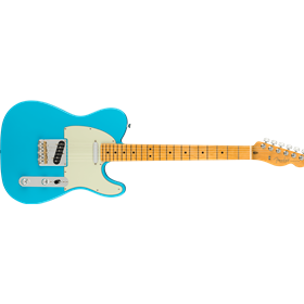 American Professional II Telecaster®, Maple Fingerboard, Miami Blue