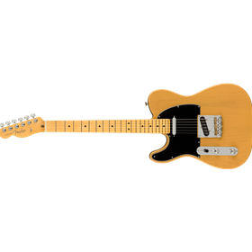 American Professional II Telecaster® Left-Hand, Maple Fingerboard, Butterscotch Blonde