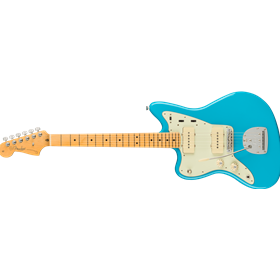 American Professional II Jazzmaster® Left-Hand, Maple Fingerboard, Miami Blue