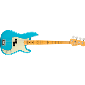 American Professional II Precision Bass®, Maple Fingerboard, Miami Blue