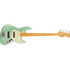 American Professional II Jazz Bass®, Maple Fingerboard, Mystic Surf Green