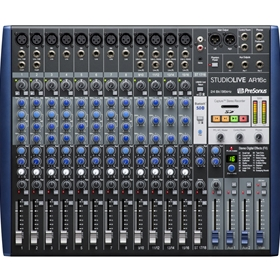 PreSonus Studiolive-AR16C USB-C 18 Channel Hybrid Performance and Recording Mixer