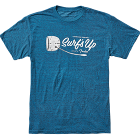 American Original Surf's Up T-Shirt, Teal, L