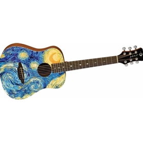Luna | Safari Starry Night Travel Guitar w/Bag
