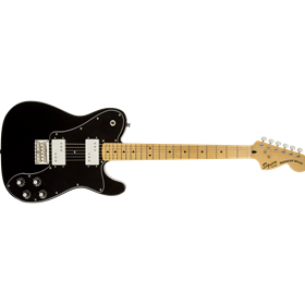 Vintage Modified Telecaster Deluxe, Maple Fingerboard, Black