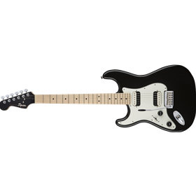 Contemporary Stratocaster® HH Left-Handed, Maple Fingerboard, Black Metallic