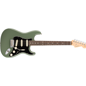 American Pro Stratocaster®, Rosewood Fingerboard, Antique Olive