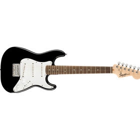 Mini Strat, Laurel Fingerboard, Black
