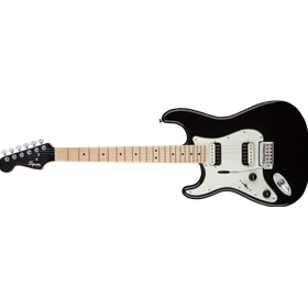 Contemporary Stratocaster HH Left-Handed, Maple Fingerboard, Black Metallic