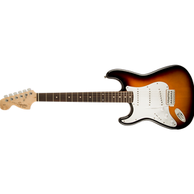 Affinity Series Stratocaster, Left-Handed, Laurel Fingerboard, Brown Sunburst