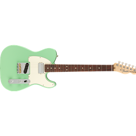 Fender American Performer Telecaster with Humbucking, Rosewood Fingerboard, Surf Green