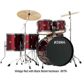 Tama Imperialstar 6 piece drum outfit w/ Meinl HCS460 cymbals & hardware
