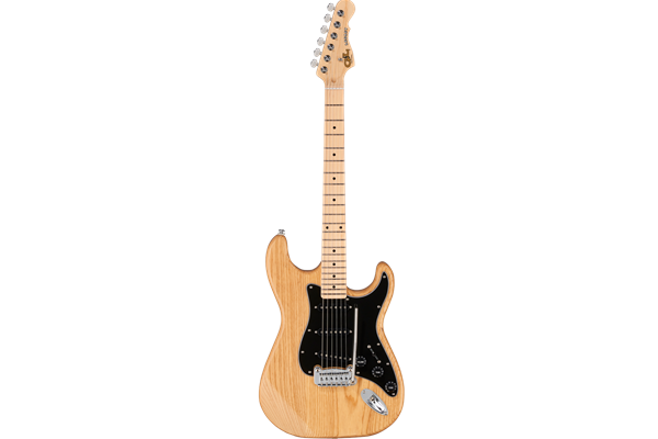 Tribute Legacy, Natural Gloss, 3ply Black pg, Maple Fingerboard