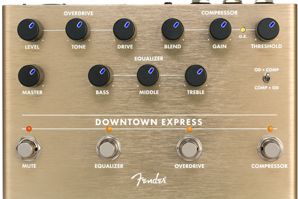 Downtown Express Bass Multi Effect Pedal