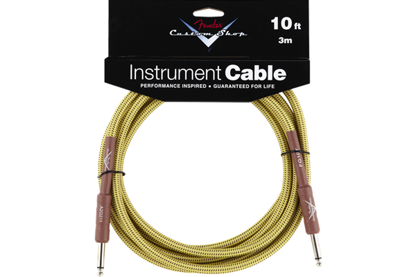 Fender Custom Shop Cable, 10', Tweed