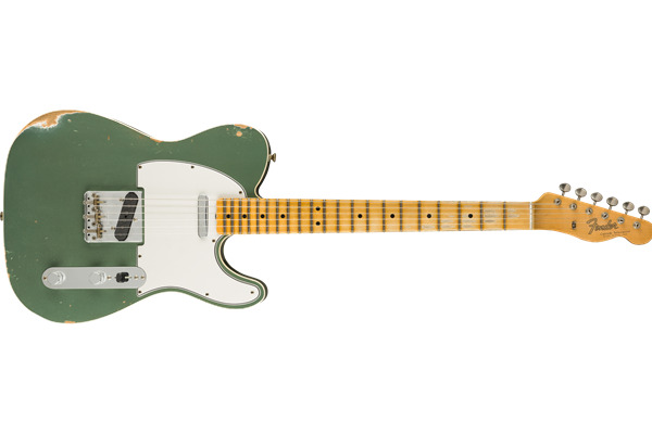 2019 Limited 55' Journeyman Telecaster - Super Faded Aged Sherwood Green