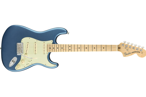 American Performer Stratocaster, Maple Fingerboard, Satin Lake Placid Blue