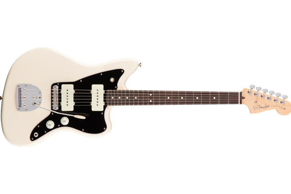 American Pro Jazzmaster, Rosewood Fingerboard, Olympic White