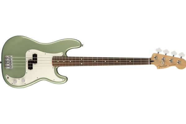 Player Precision Bass, Pau Ferro Fingerboard, Sage Green Metallic