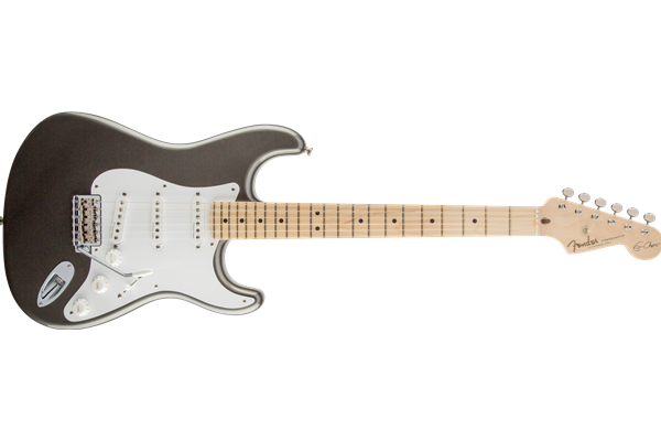 Eric Clapton Stratocaster, Maple Fingerboard, Pewter