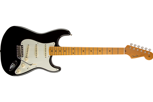 Eric Johnson Stratocaster, Maple Fingerboard, Black