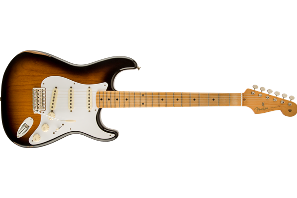 Road Worn '50s Stratocaster, Maple Fingerboard, 2-Color Sunburst